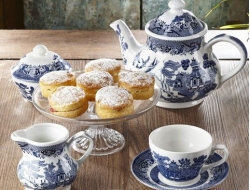 blue willow tea