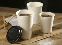 dispo paper cup with coffee opt