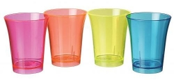 reusable plastic shot glasses