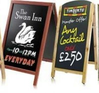 A-Frame Chalk Boards