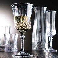 Reusable Gatsby Vintage Polycarb Glasses