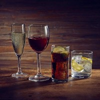 Vicrila Merly Wine Glasses & Tumblers with drinks