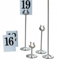 Table Numbers Stands