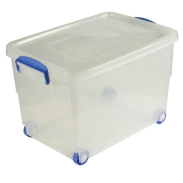 Amazing 60ltr Ingredients Storage Box On Wheels