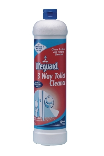 1l Lifeguard 3 Way Toilet Cleaner Lifeguard Toilet
