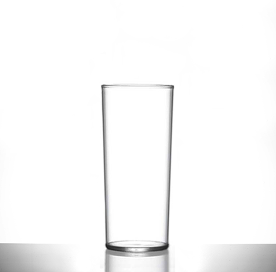 X Reusable Plastic Pint Glasses