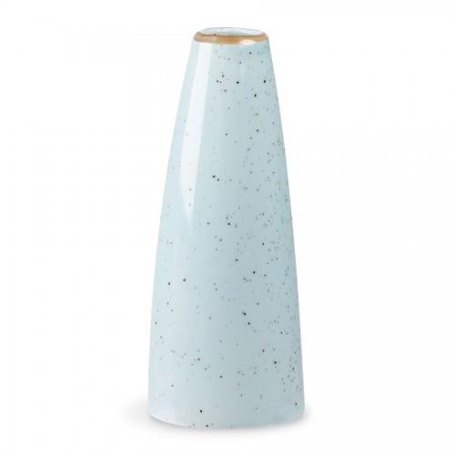 Stonecast Duck Egg Blue Bud Vase 125cm 5inch Wholesale Blue Bud