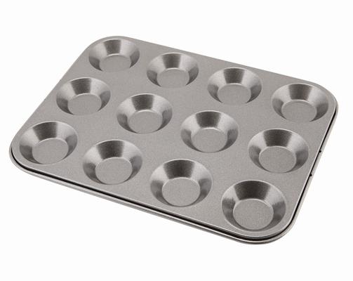 Non Stick 12 Cup Bun Tray Wholesale Baking Trays