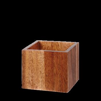 Small Wooden Buffet Cube