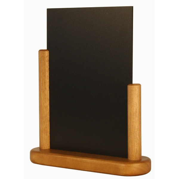 a5 table chalk board menu board hand held menu board. Black Bedroom Furniture Sets. Home Design Ideas