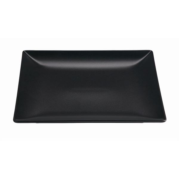 Luna Matt Black Stoneware Square Coupe Plate 26cm / 10.2inch  sc 1 st  MK Catering u0026 Bar Supplies & Luna Matt Black Square Coupe Plate | Matt Black Squared Plate ...