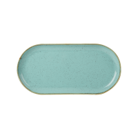 Seaspray Porcelite Seasons Narrow Oval Plate