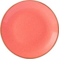 Coral Porcelite Seasons Coupe Plate