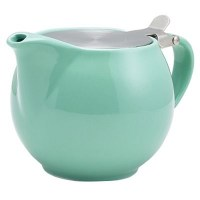 Green Porcelain Teapot