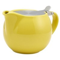 Yellow Porcelain Teapot