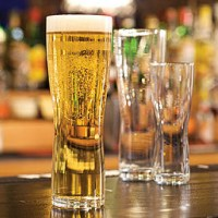 Aspen Nucleated Tall Beer Glass