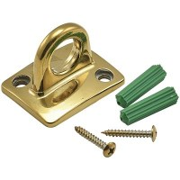 Brass Wall Attachment for Barrier Rope