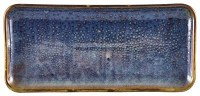 Aqua Blue Terra Narrow Rectangular Platter
