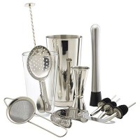 Stainless Steel 12 Piece Cocktail Set
