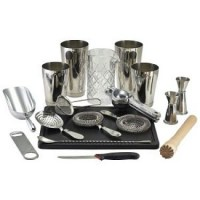Cocktail Bar Kit Silver