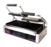 Pantheon Ribbed Plate LARGE Double Contact Grill