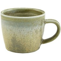 Matt Grey Terra Porcelain Cup