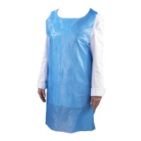 Blue Disposable Polyethene Aprons