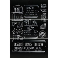 Frameless Chalkboard Set