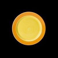 Freedom Slimlime Side Plate Yellow