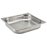 PERFORATED Gastronorm Pan 40mm Deep