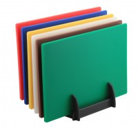 High Density Chopping Board Set with Rack