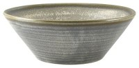 Matt Grey Terra Conical Bowl