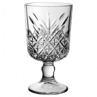 Timeless Vintage Goblet Glasses 11.25oz / 32cl