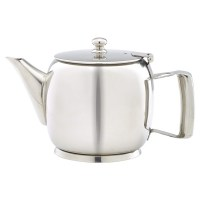 4 Cup 20oz Premier Stainless Steel Teapot