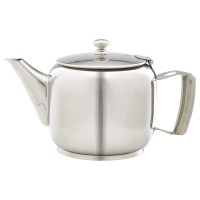 8 Cup 40oz Premier Stainless Steel Teapot