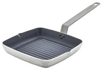 24cm Non-Stick Teflon Plus Square Ribbed Skillet