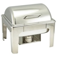 Stainless Steel Soft Close Chafing Dish 1/2
