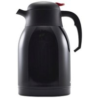 2.0Ltr BLACK Vacuum Jug with Unbreakable Liner