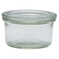 WECK Glass Storage Jar + Lid 5.8oz / 16.5cl