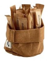 Brown Washable Paper Bread Bag