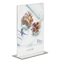 A5 Poster Holder with Dior Poster