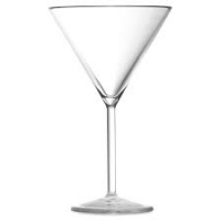 POLYCARBONATE Martini Cocktail Glass 7oz / 20cl