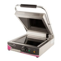 Wipe Clean Single Ceramic Smooth Contact - Panini Grill