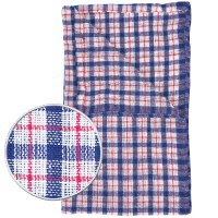 Economy Coloured Check Tea Towel