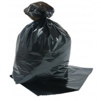 Black Compactor Sack 22x33x47 inch