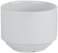 Economy White Porcelain Sugar Bowl
