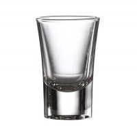 3.4cl Heavy Base Shooter Glass