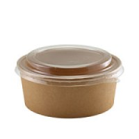 Compostable Kraft Salad Container