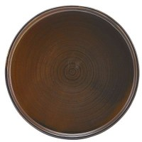 Rustic Copper Low Presentation Plate