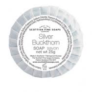 Silver Buckthorn Wrapped Guest Soap 25g